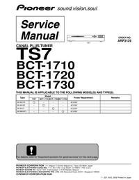 Pioneer BCT-1720