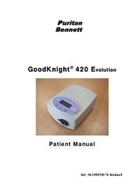 PuritanBennett GoodKnight® 420 Evolution