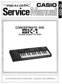 RadioShack Concertmate-500