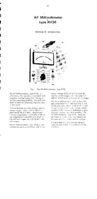 Radiometer RV36
