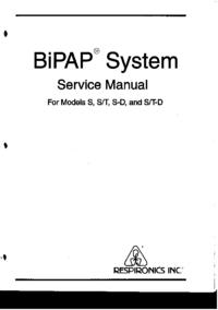 Respironics BiPAP S-D