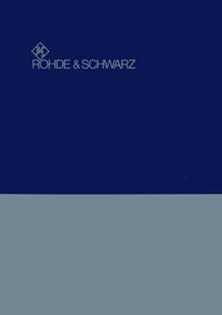 RohdeUndSchwarz SWOB 100.5226.