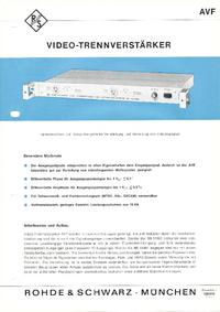 RohdeUndSchwarz BN 13601
