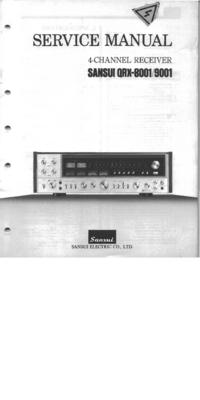 Sansui QRX-9001