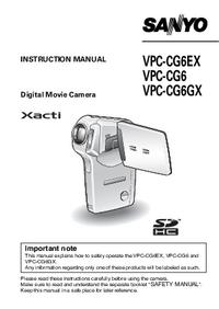 Sanyo VPC-CG6EX