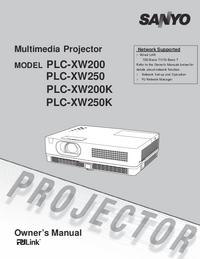 Sanyo PLC-XW200K