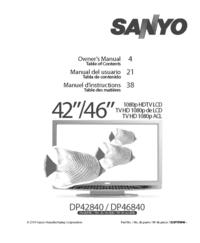 Sanyo DP42840