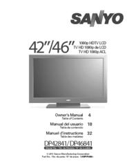 Sanyo DP42841