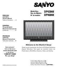 Sanyo DP42848