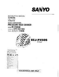 Sanyo ECJ-PX50S
