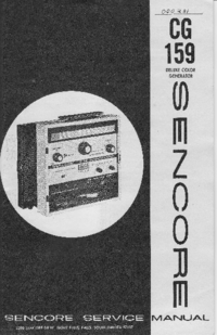 Sencore CG159