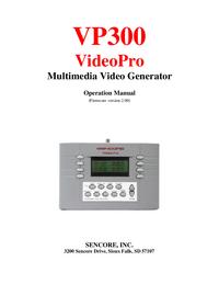 Sencore VP300