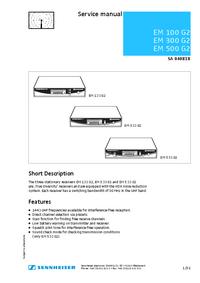 Sennheiser EM 500 G2