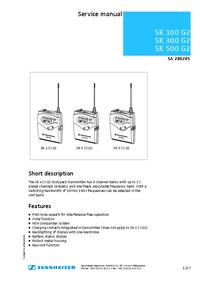 Sennheiser SK 300 G2
