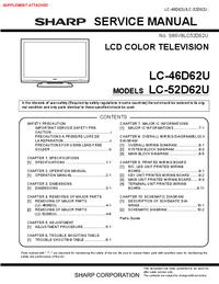 Sharp LC-52D62U
