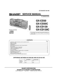 Sharp GX-CD130