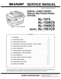 Sharp AL-1215