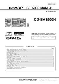 Sharp CD-BA1500H