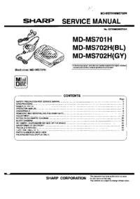 Sharp MD-MS701H