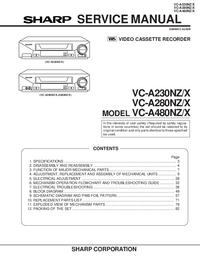 Sharp VC-A230NZ/X