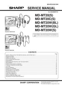 Sharp MD-MT20C(S)