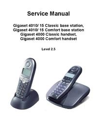 Siemens Gigaset 4000 Classic handset