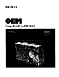 Siemens FDD 100-8