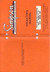 Simpson 260-4