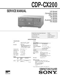 Sony CDP-CX200