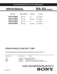 Sony RA-5A