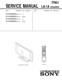 Sony KF-50XBR800