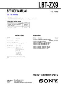 Sony LBT-ZX9