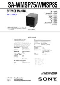 Sony SA-WMSP85