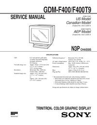 Sony GDM-F400T9