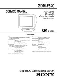Sony GDM-F520
