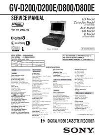 Sony GV-D200