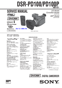 Sony DSR-PD100P