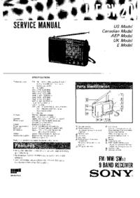 Sony ICF-SW20