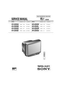 Sony KV-25X5R
