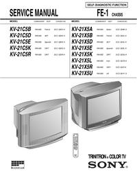 Sony KV-21X5U