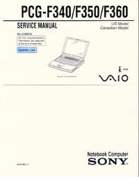 Sony PCG-F350
