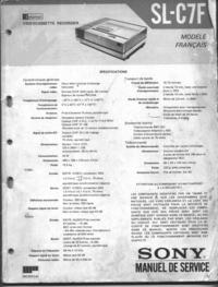 Sony SL-C7F