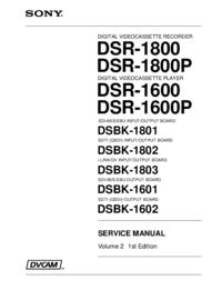 Sony DSBK-1801