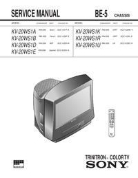 Sony KV-20WS1E