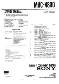 Sony TA-H4800