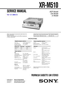 Sony XR-M510