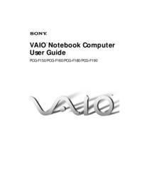 Sony Vaio PCG-F180