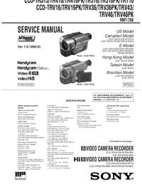 Sony CCD-TR315