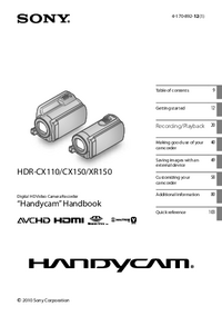 Sony HDR-CX150