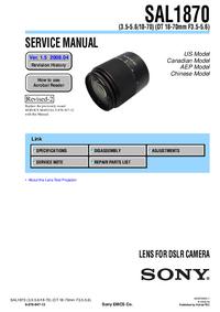 Sony SAL1870